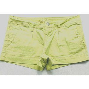 American Rag Size 3 Stretch Lime Green Shorts